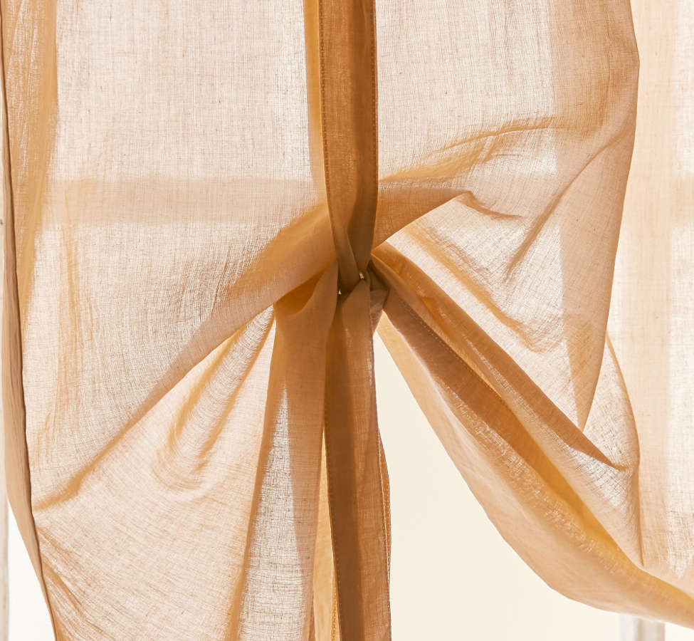 Slide View: 3: Draped Shade Curtain