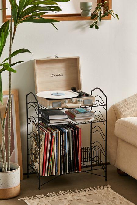 Vinyl Record Storage Shelf