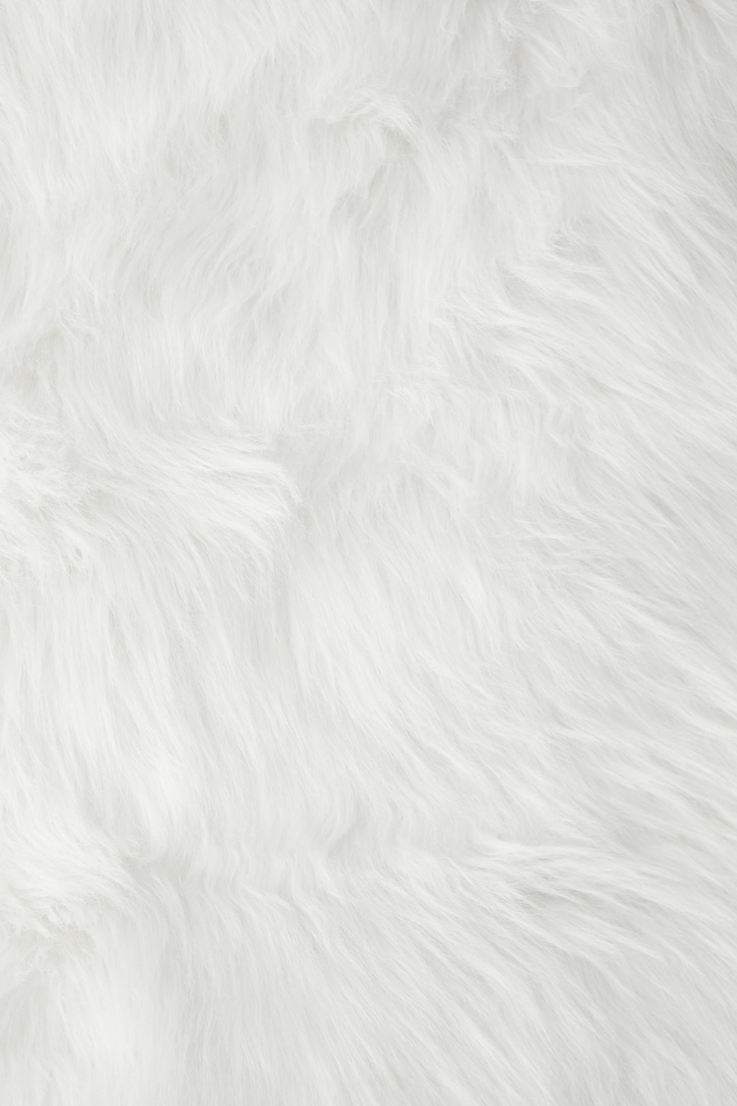 Slide View: 5: Faux Sheep Skin Rug