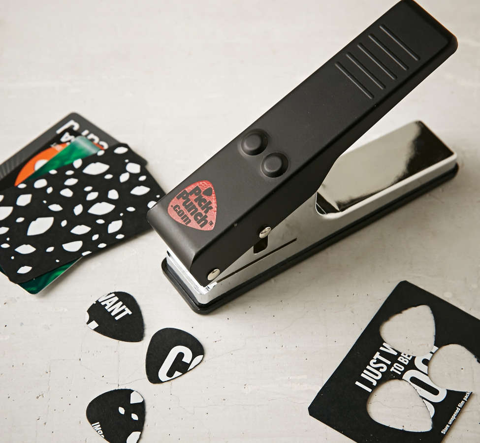 Slide View: 1: Guitar Pick Punch
