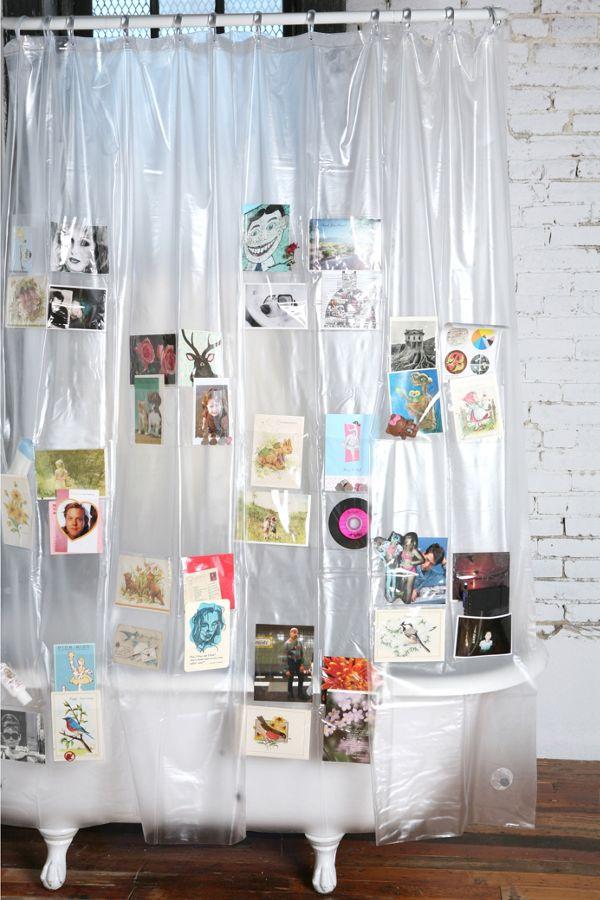 Pockets Shower Curtain