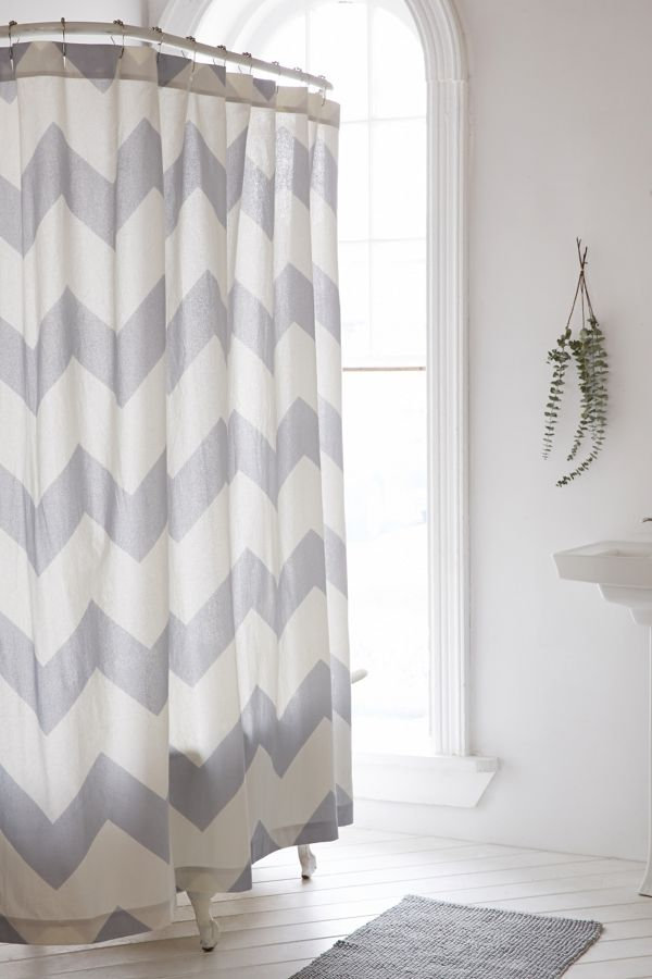 Your Urban Outfitters Gallery Zigzag Shower Curtain