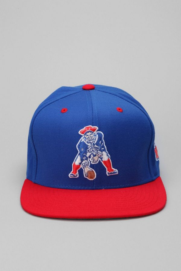Mitchell   Ness Patriots Throwback Hat  09a9a6001bc
