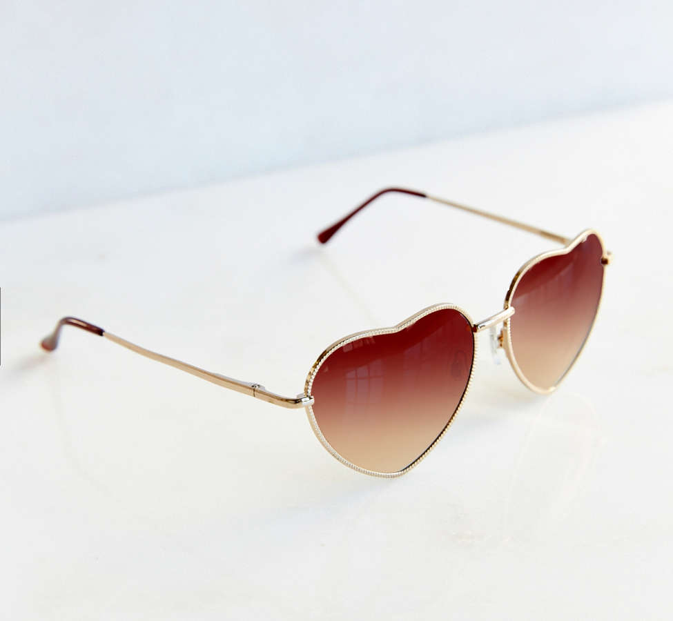 Slide View: 2: UO Heartbreaker Sunglasses