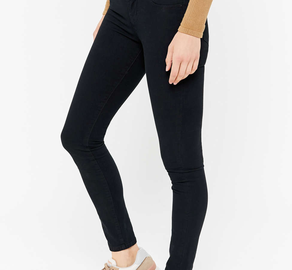 Slide View: 3: BDG Seamed High-Rise Jean - Black
