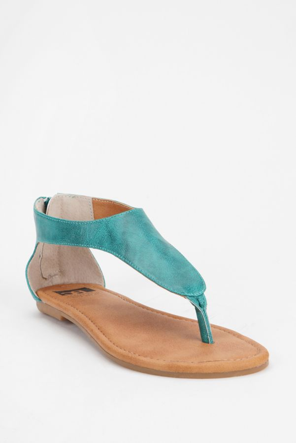 2887844a0ce2c BC Footwear Back-Zip Thong Sandal