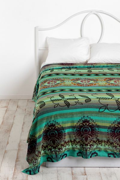 Overprinted Stripe Tapestry
