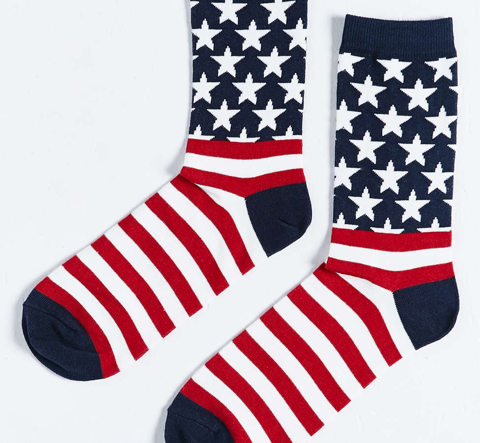 Slide View: 3: USA Sock