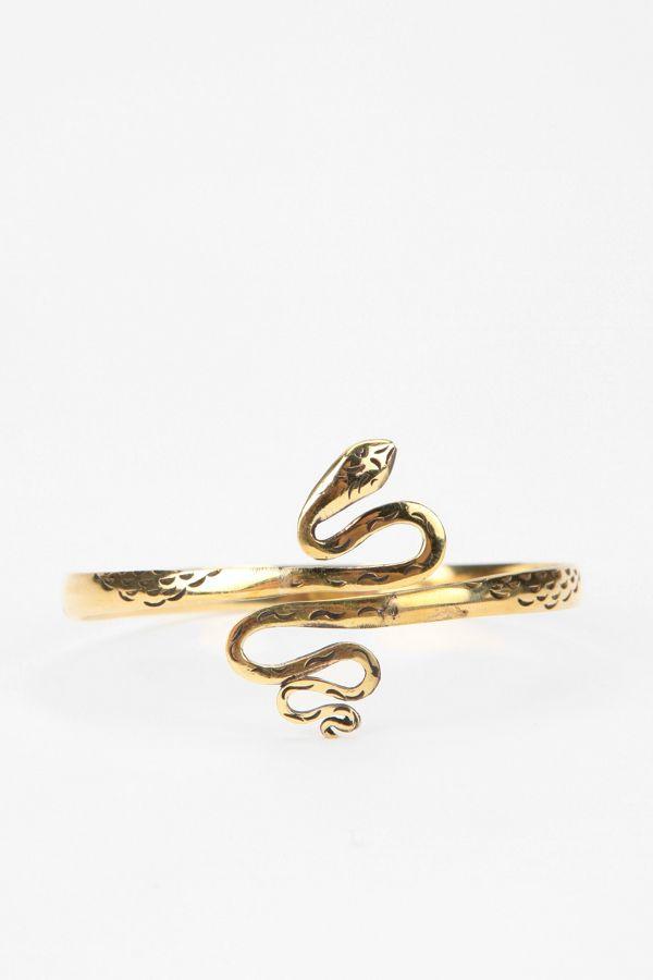 Jen S Pirate Booty Snake Arm Wrap Bracelet