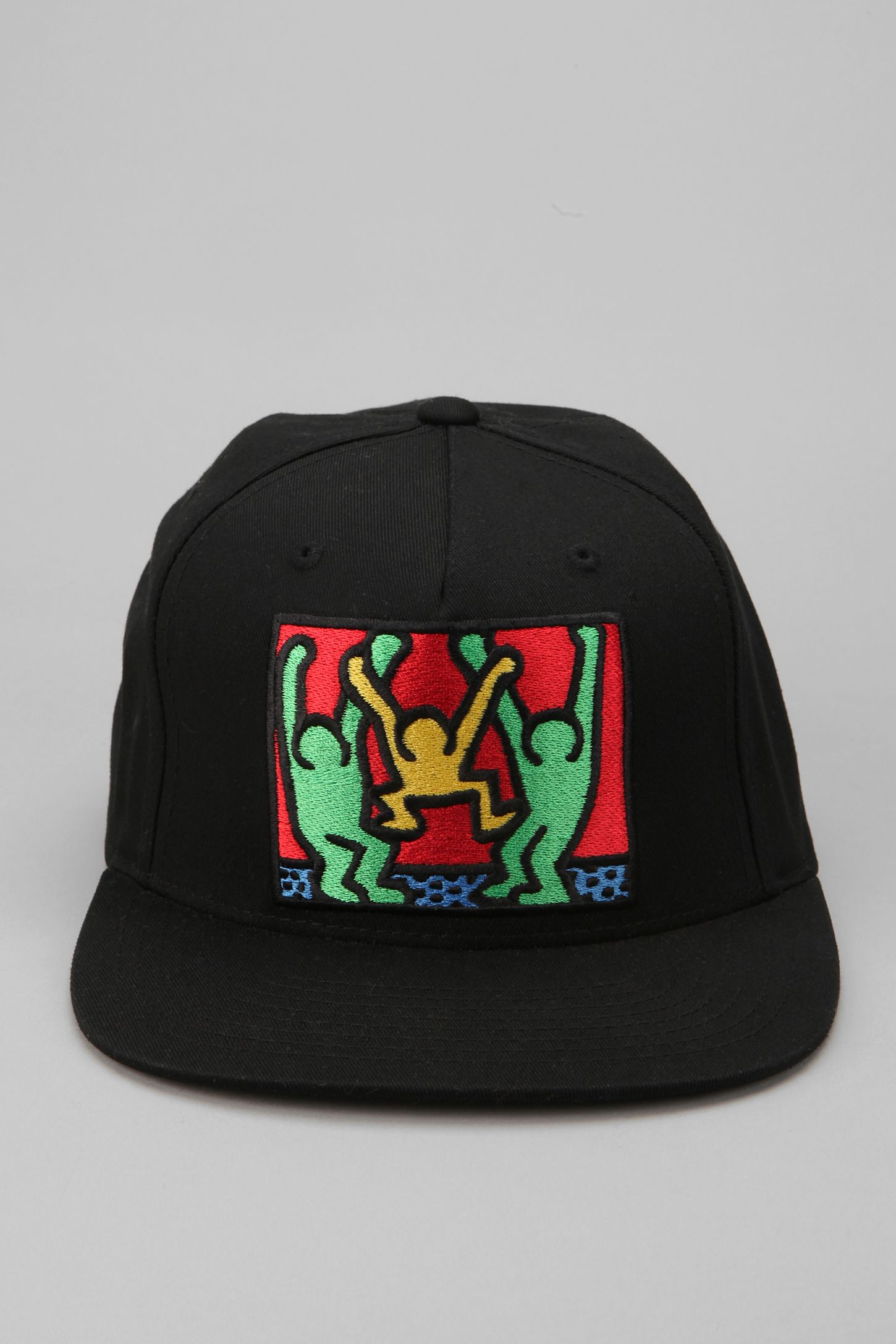OBEY Keith Haring Friends Snapback Hat  c6f8b401776