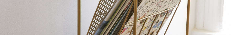 Thumbnail View 1: Corner Store Vinyl Storage Rack