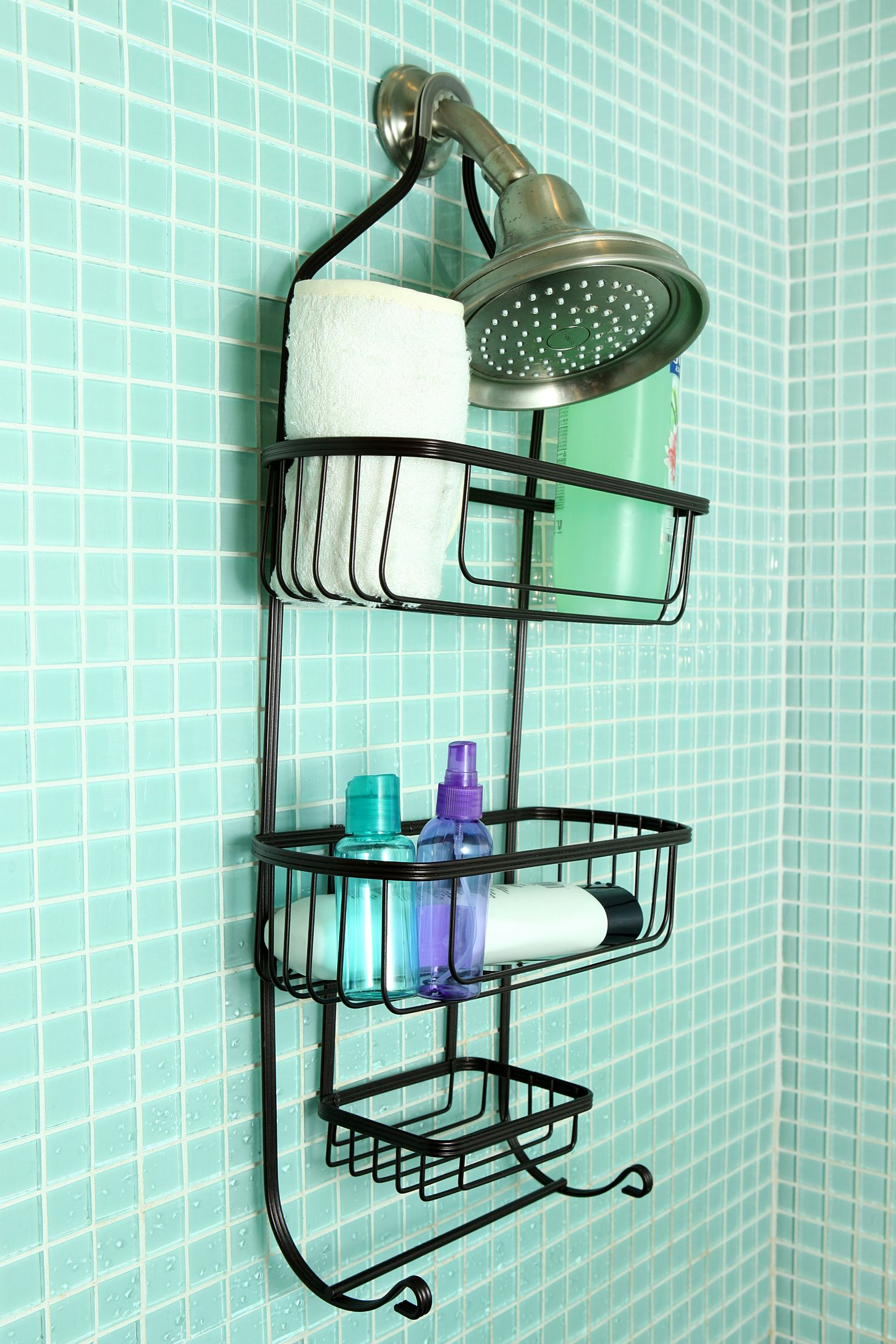 Industrial Wire Shower Caddy | Urban Outfitters