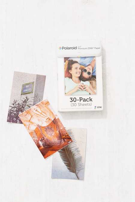 Polaroid Instant ZINK 2X3 Sticker Film