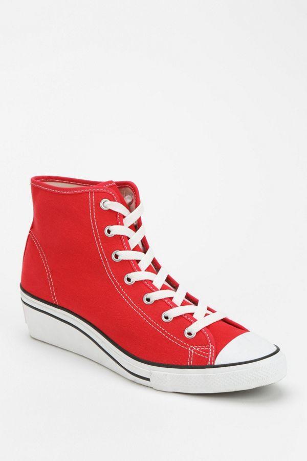 Converse Chuck Taylor All Star Women S High Top Wedge Sneaker