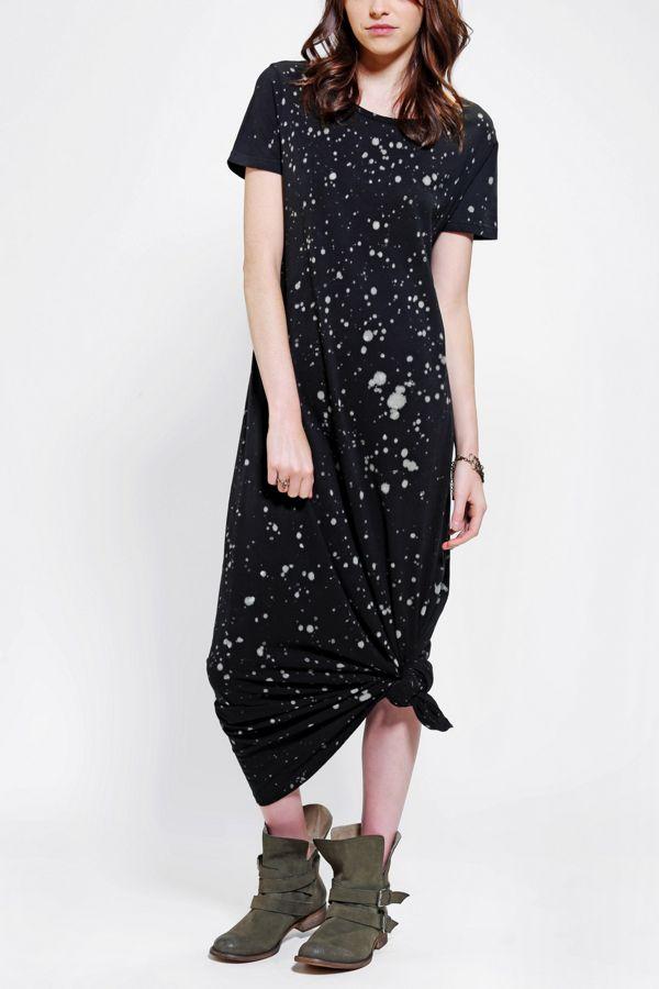 Staring At Stars T Shirt Maxi Dress Urban Outfitters