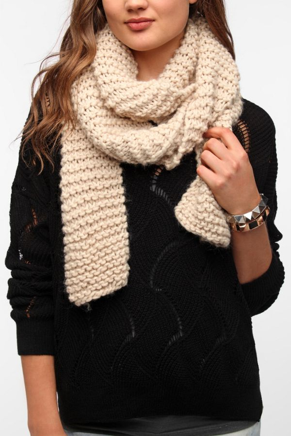 Bdg Shores Popcorn Scarf Urban Outfitters