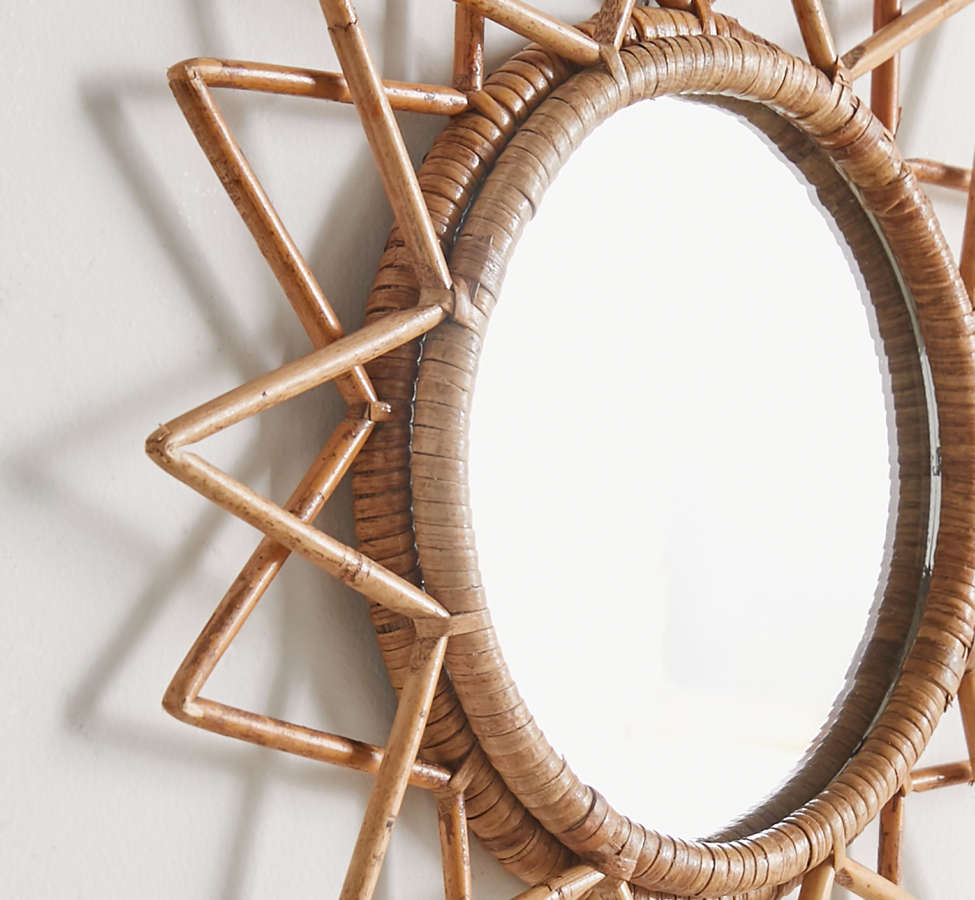 Slide View: 3: Magical Thinking Woven Wall Mirror