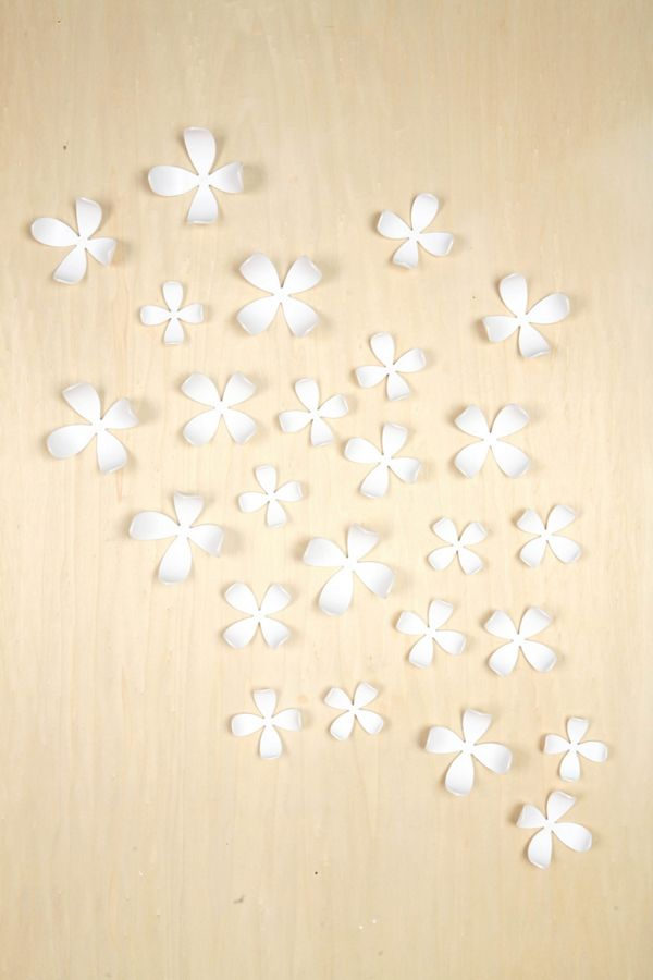 Wallflower Wall Decor Set Of 25 Urban Outfitters