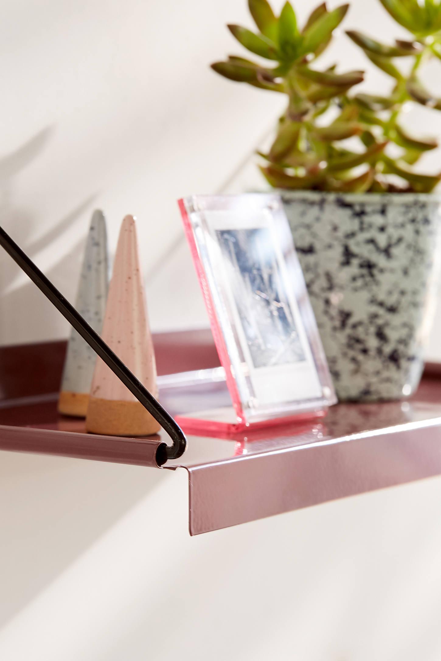 modern wall shelf  urban outfitters - slide view  modern wall shelf