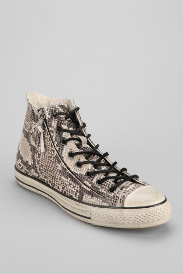 67103ac257f Converse Chuck Taylor All Star John Varvatos Double-Zip Snake Men s ...