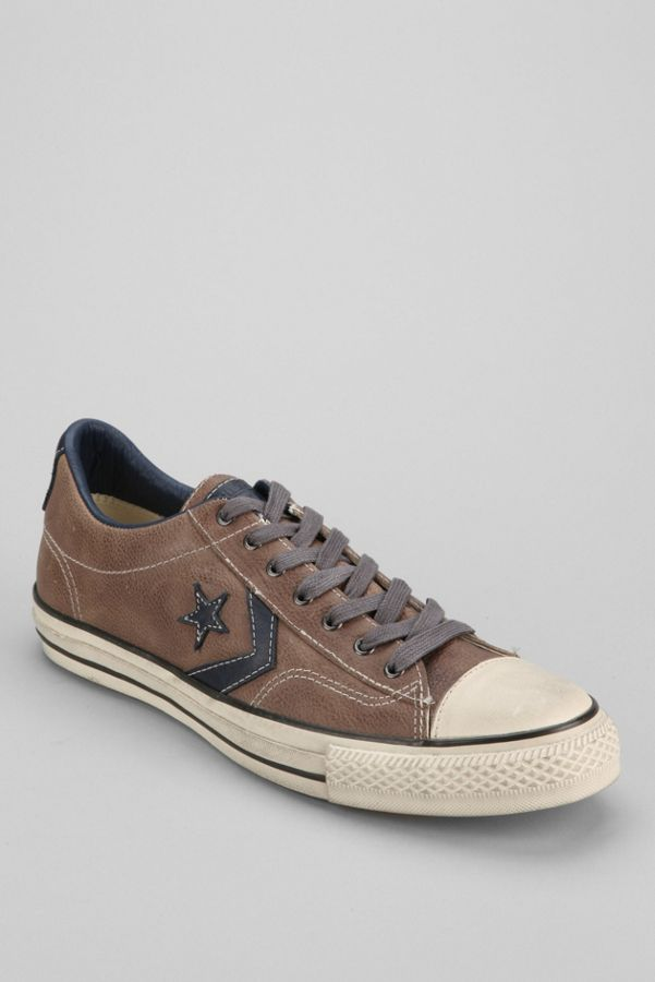 0a4ad76548ec ... italy converse chuck taylor all star john varvatos player leather low  top sneaker c16c2 99b89