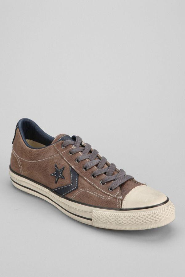 023f3cbe14523 ... italy converse chuck taylor all star john varvatos player leather low  top sneaker fb885 4da36