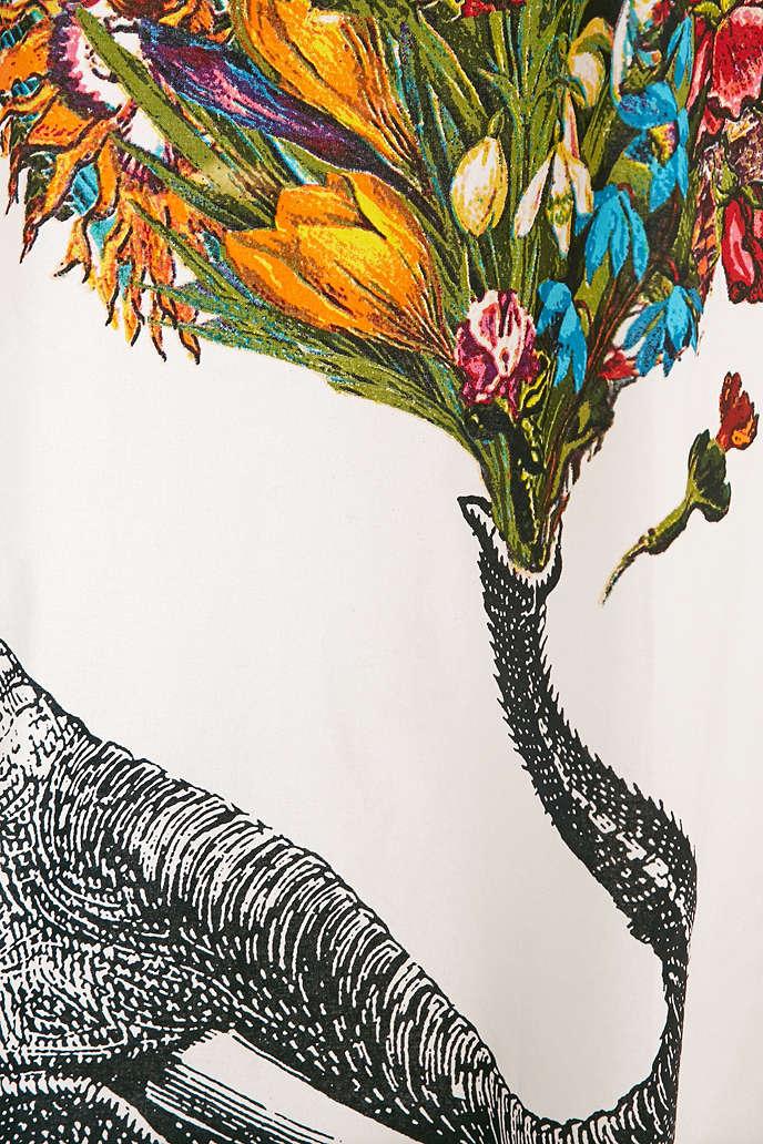 La Rococo Happy Elephant Shower Curtain Designs