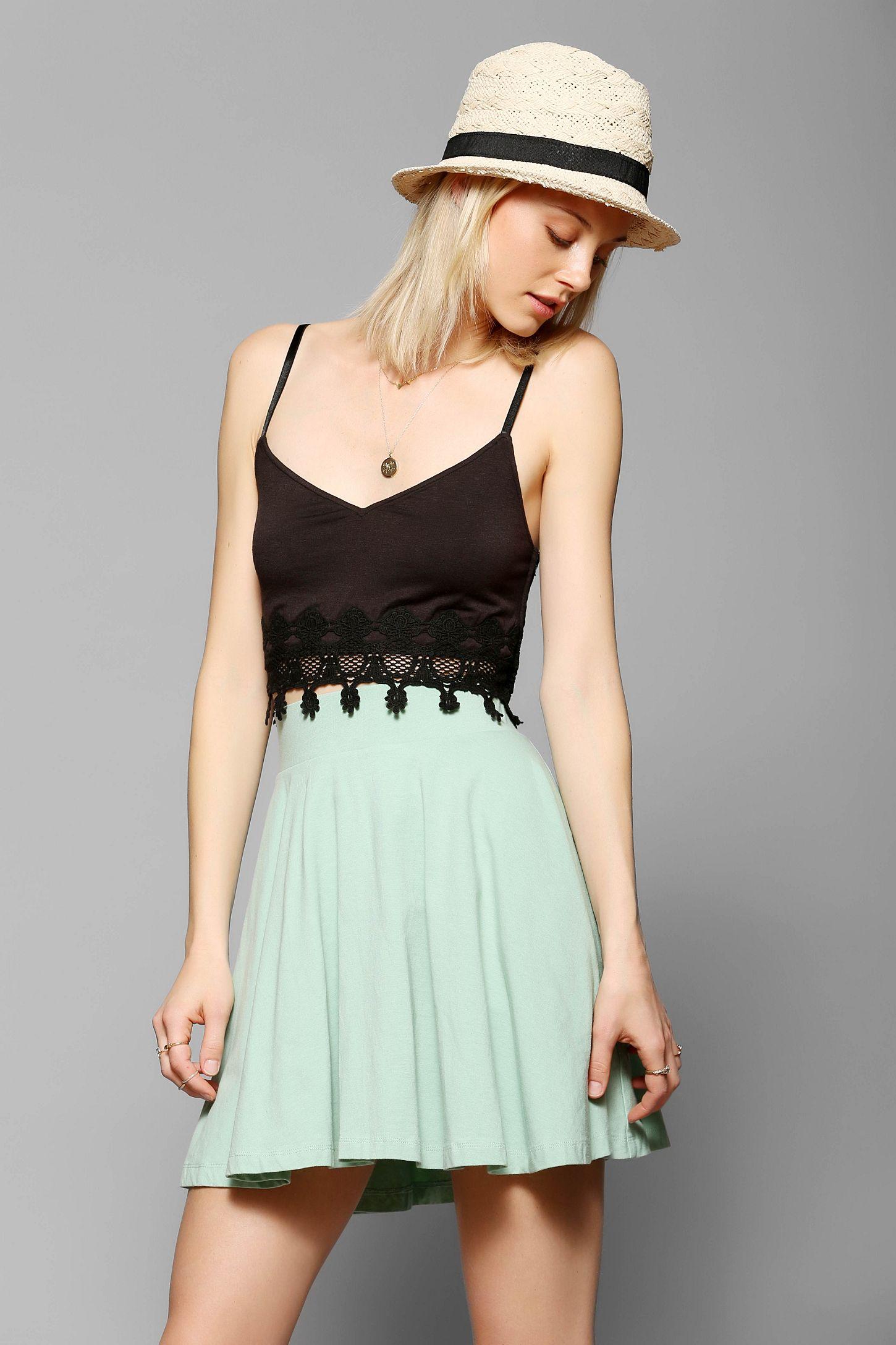 4a293284ae8 Pins And Needles Knit Circle Skirt