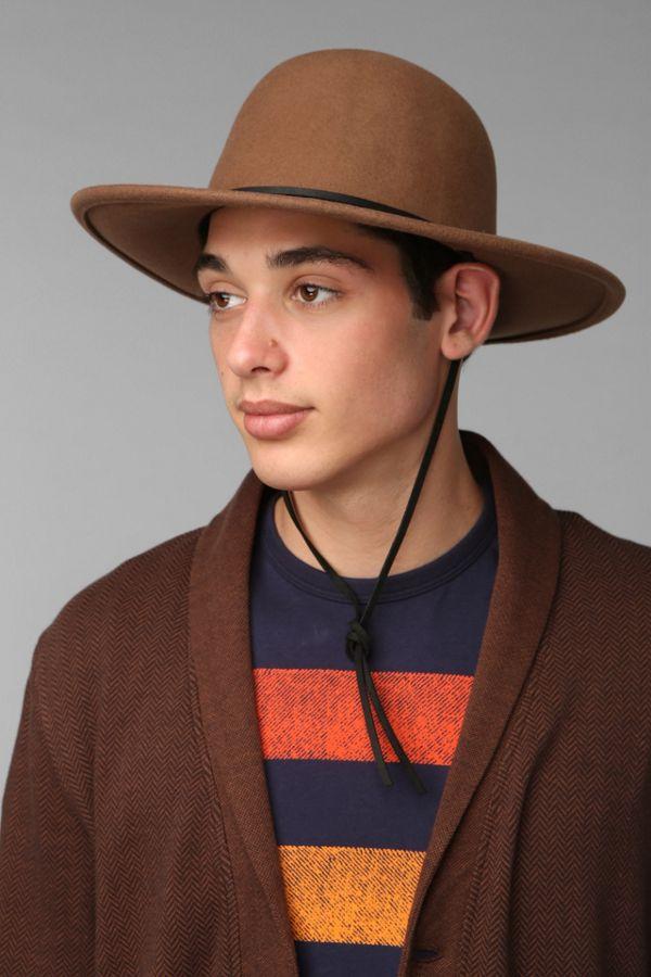 bc4976cf ... authentic brixton tiller wide brim top hat e58f5 09a14