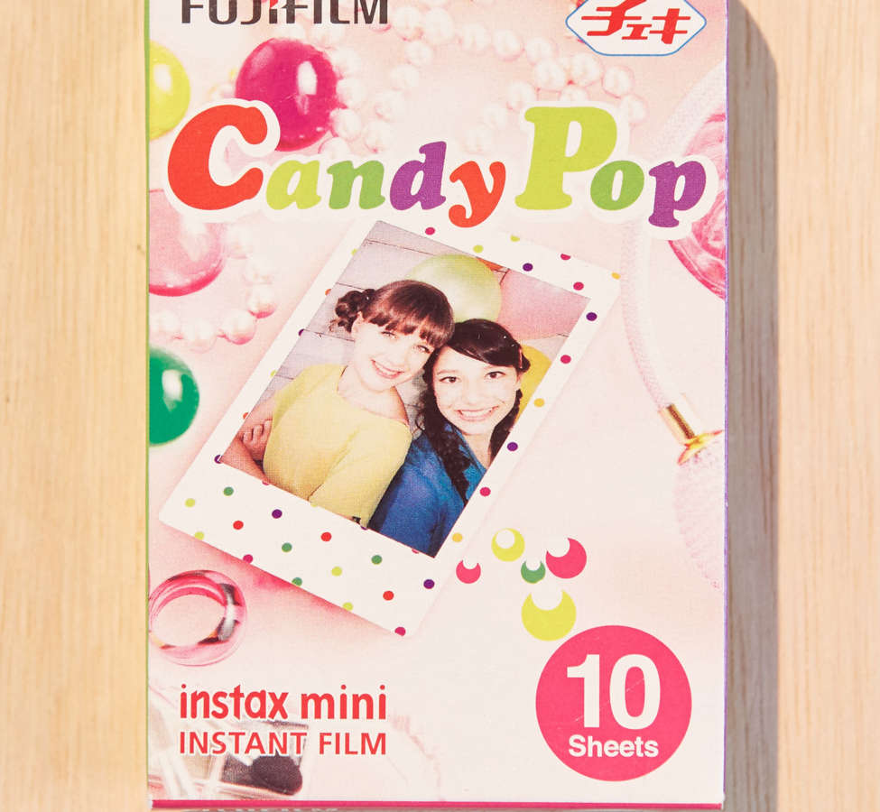 Slide View: 2: Fujifilm Instax Mini Candy Pop Film