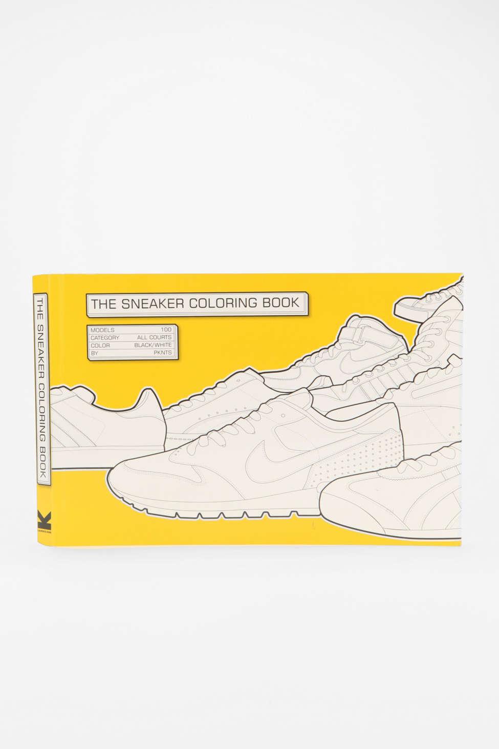 The Sneaker Coloring Book By Henrik Klingel Daniel Jarosch Urban
