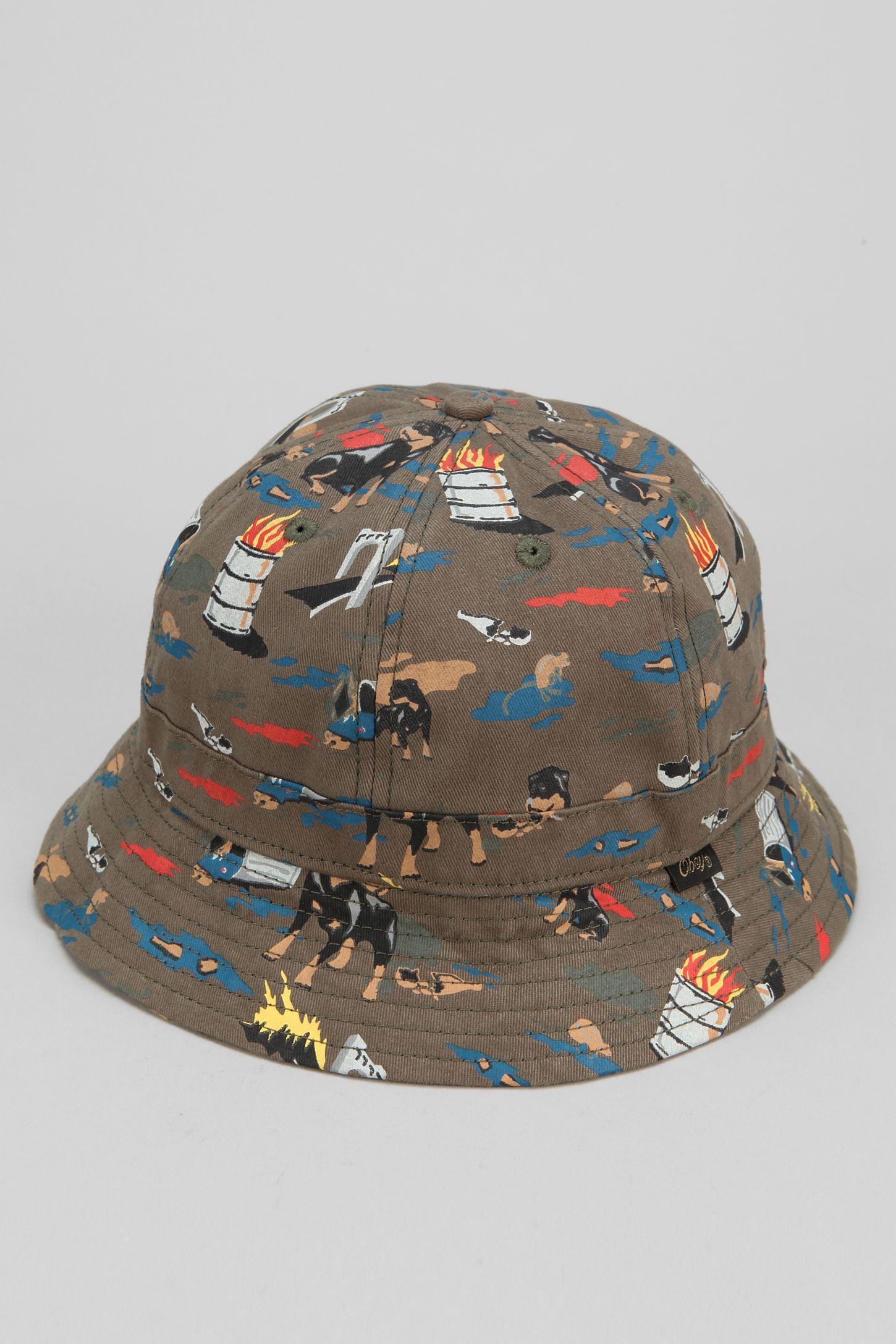 700b9cd3f54d8 OBEY City Hunting Bucket Hat