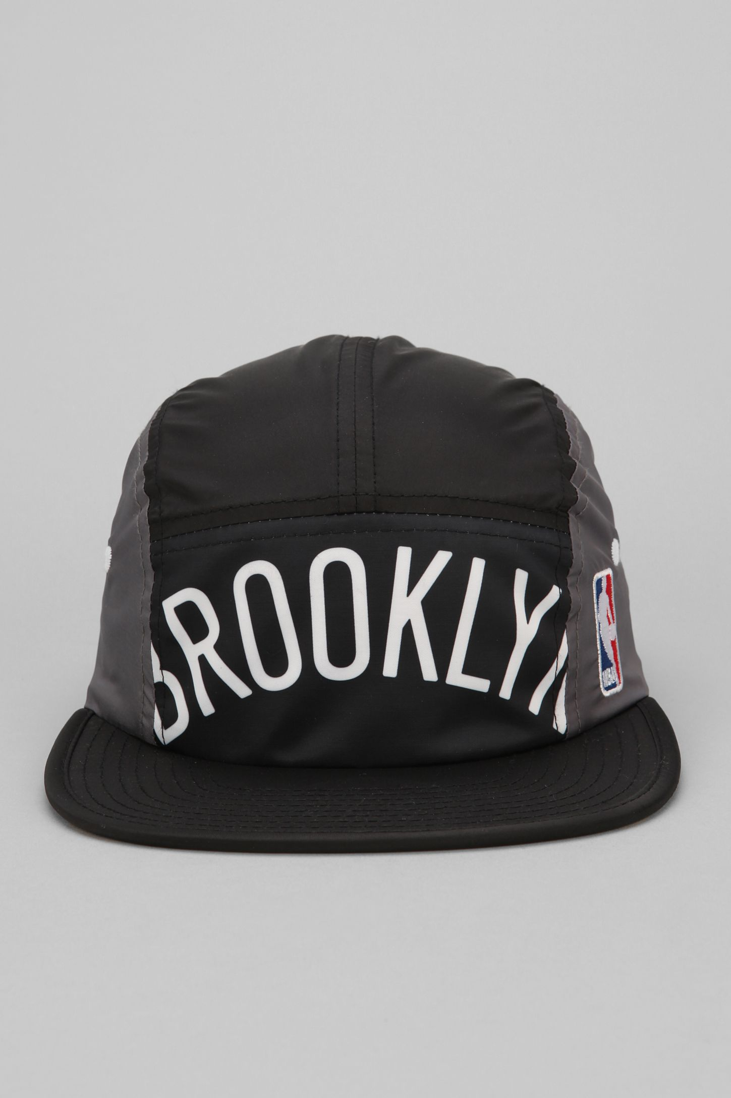 0edf4afa213 Mitchell   Ness Brooklyn Nets Worldmark 5-Panel Hat