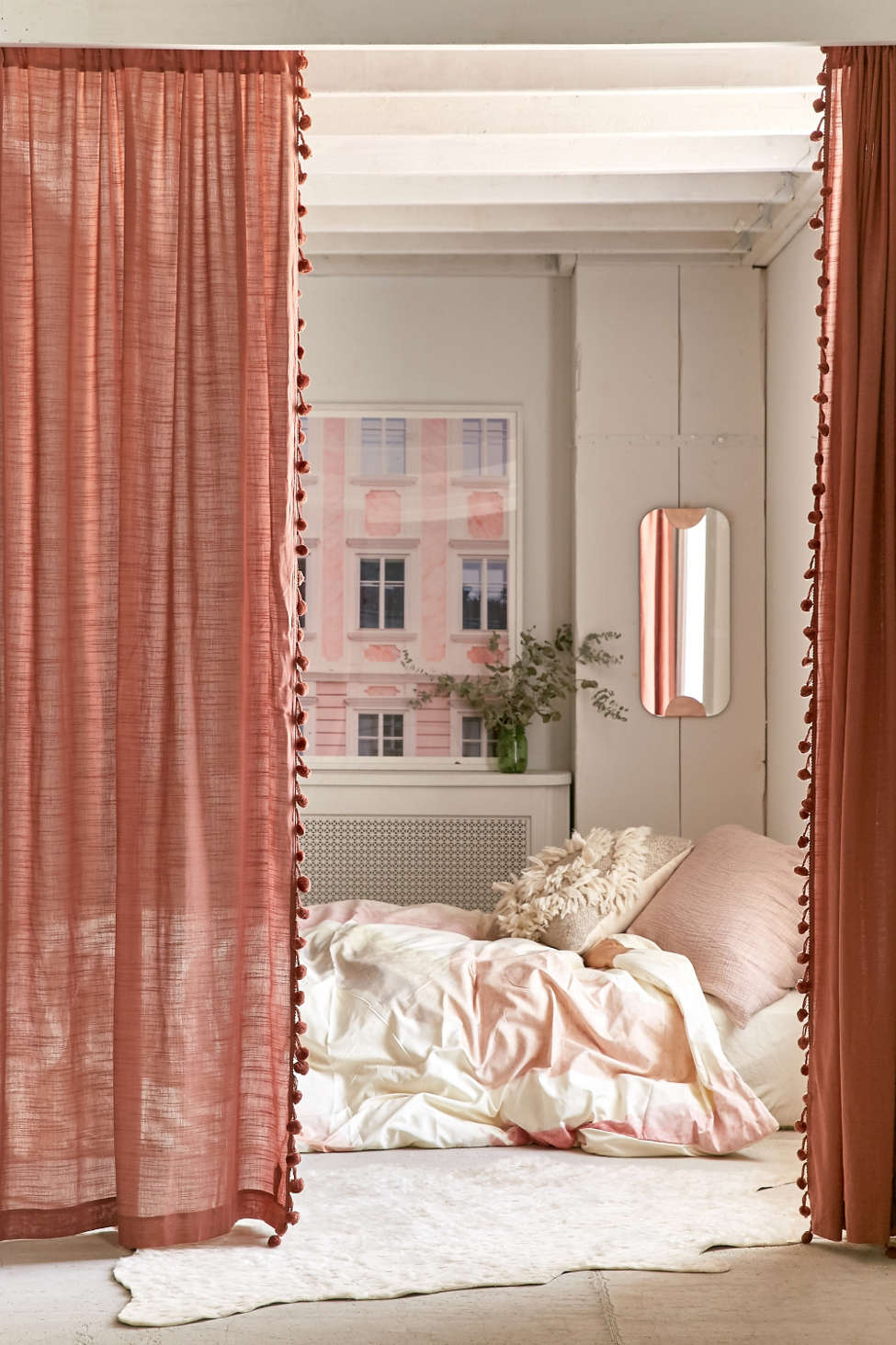 Slide View: 1: Pompom Curtain