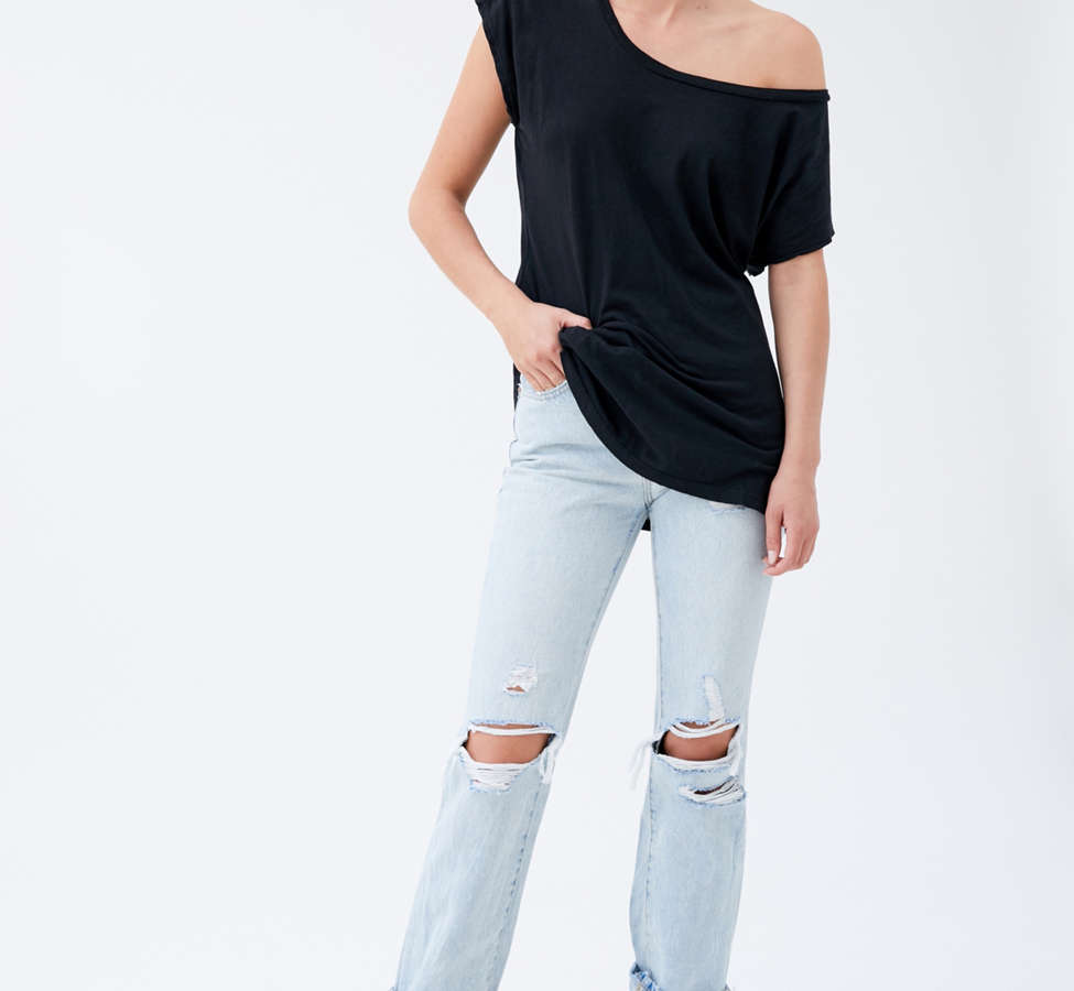 Slide View: 4: Truly Madly Deeply Off-The-Shoulder Tee