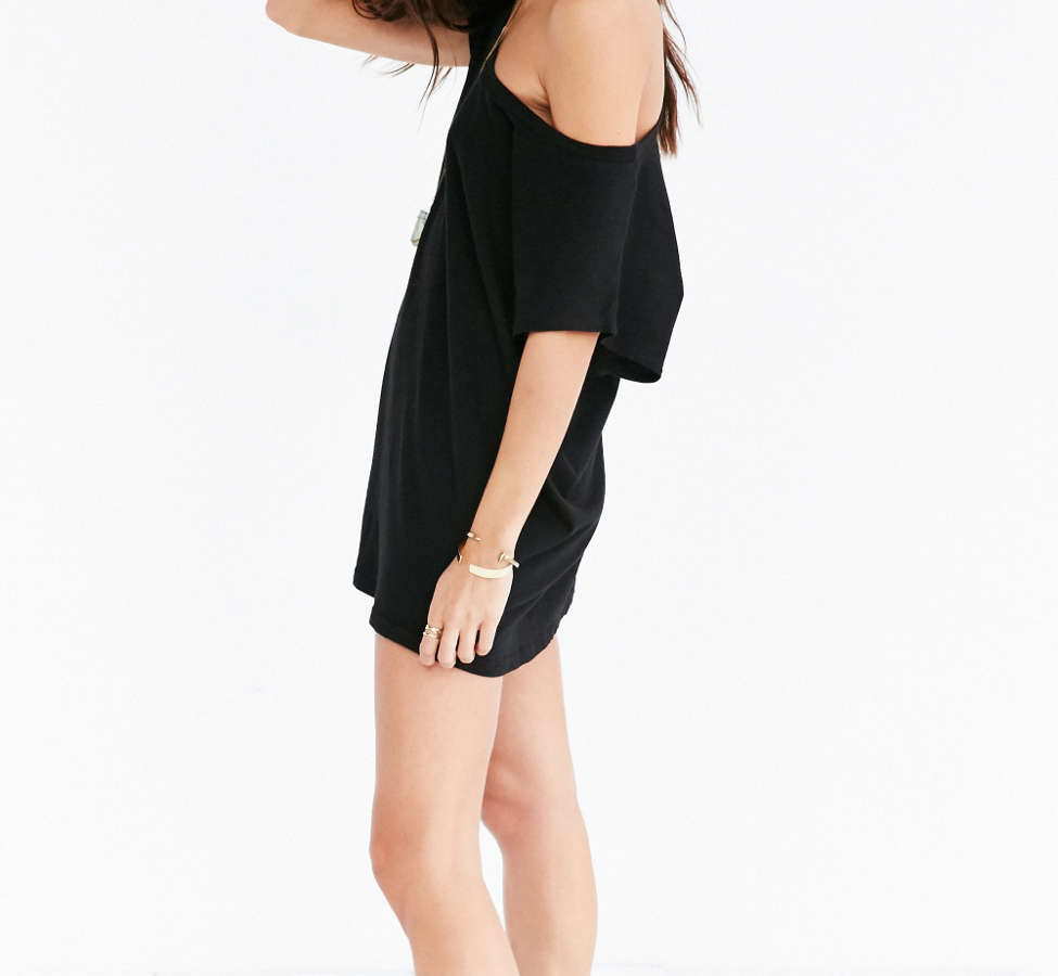 Slide View: 6: Truly Madly Deeply Off-The-Shoulder Tee