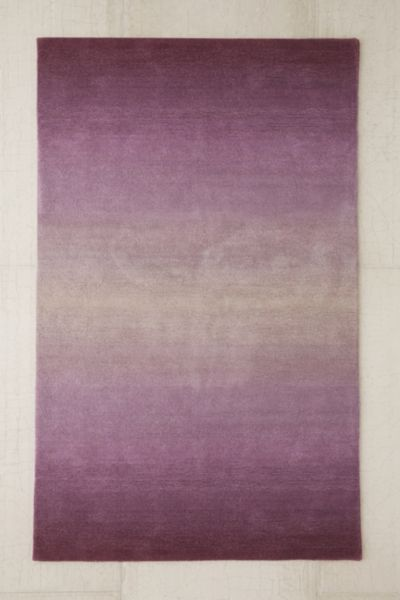 Fade Out Tufted Rug - Purple 8 X 10 at Urban Outfitters