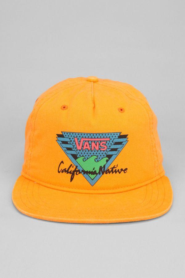 Vans California Native Snapback Hat  a15a7341716