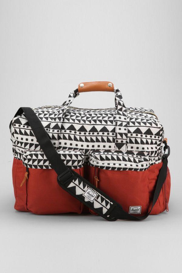 34939773a426 Herschel Supply Co. Walton Chevron Weekender Duffle Bag