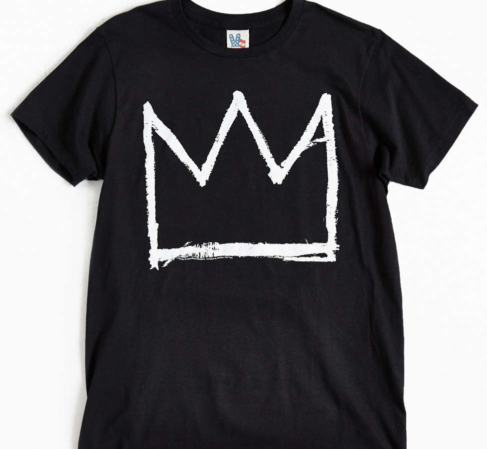 Slide View: 1: Junk Food Basquiat Crown Tee