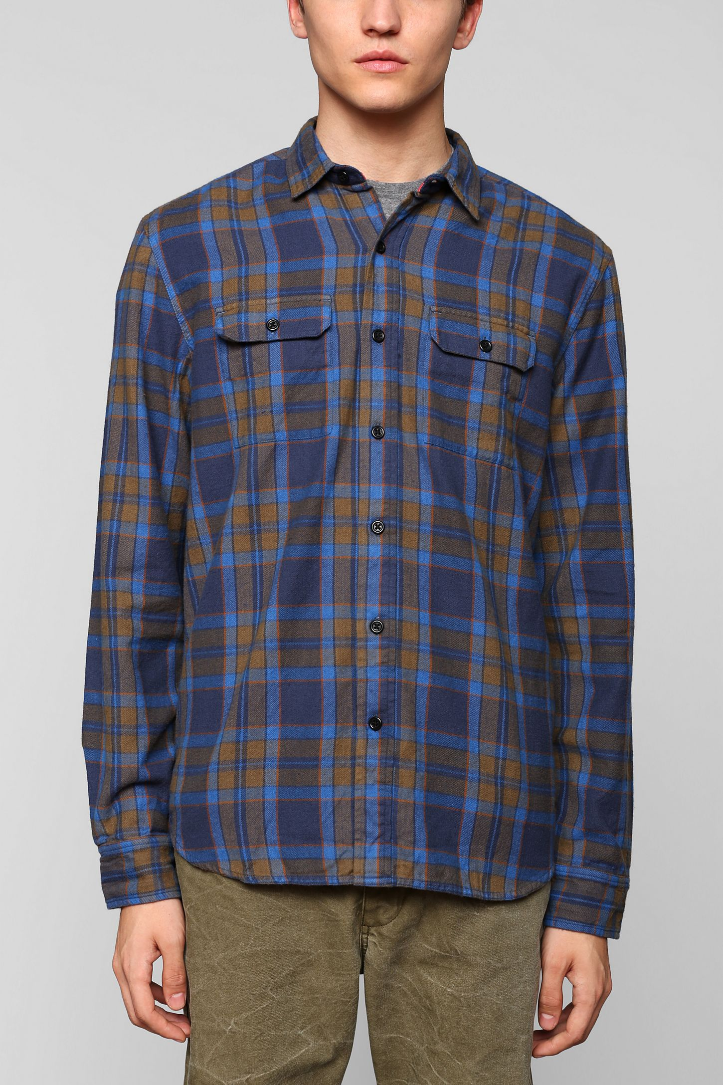 7f4dcb58676 Stapleford Printed Flannel Button Down Shirt – EDGE Engineering and ...