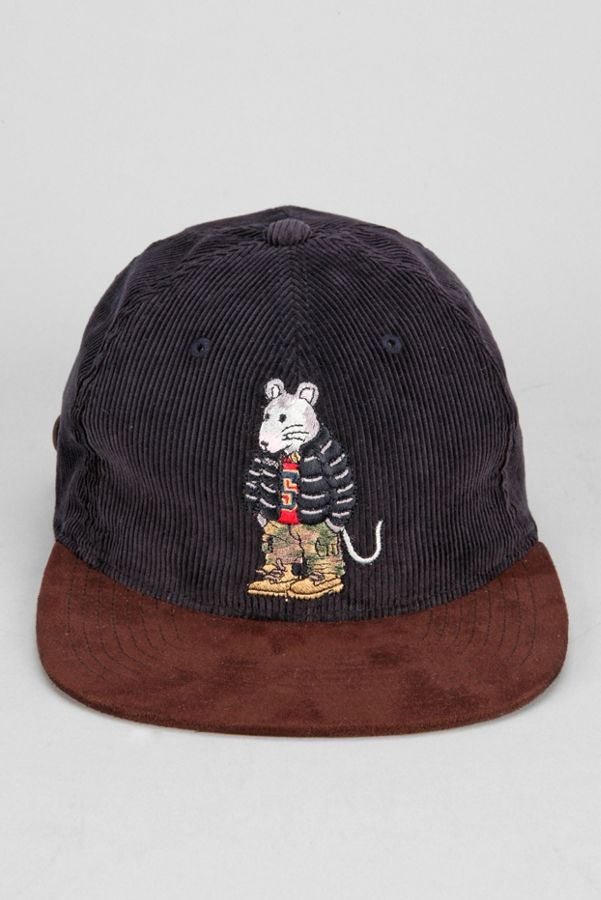 Stussy Rat Corduroy Snapback Hat  845ea494c55