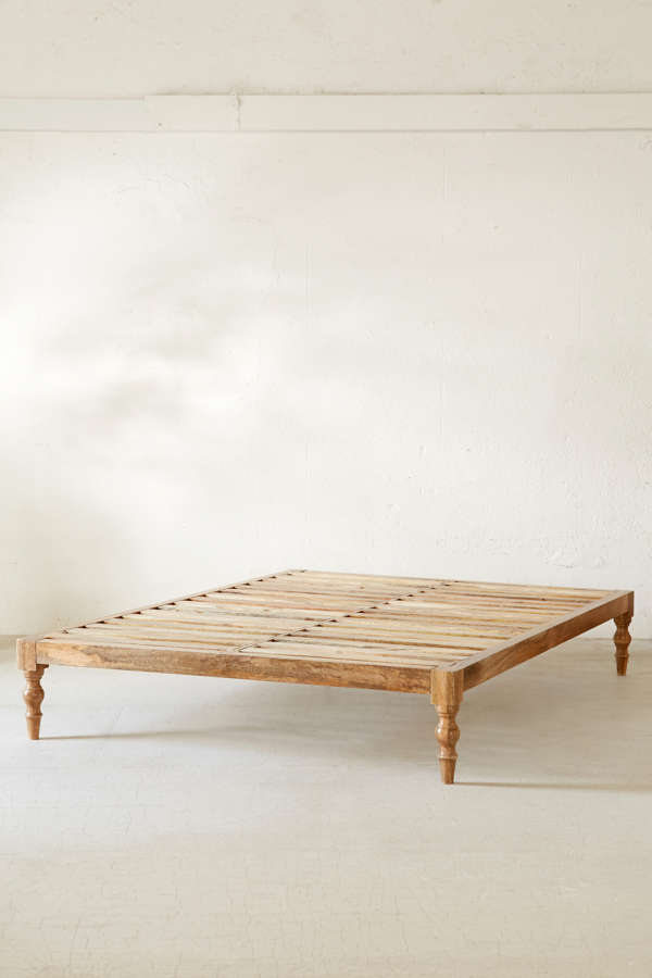 Bohemian Platform Bed | Urban Outfitters on Modern Boho Bed Frame  id=15547