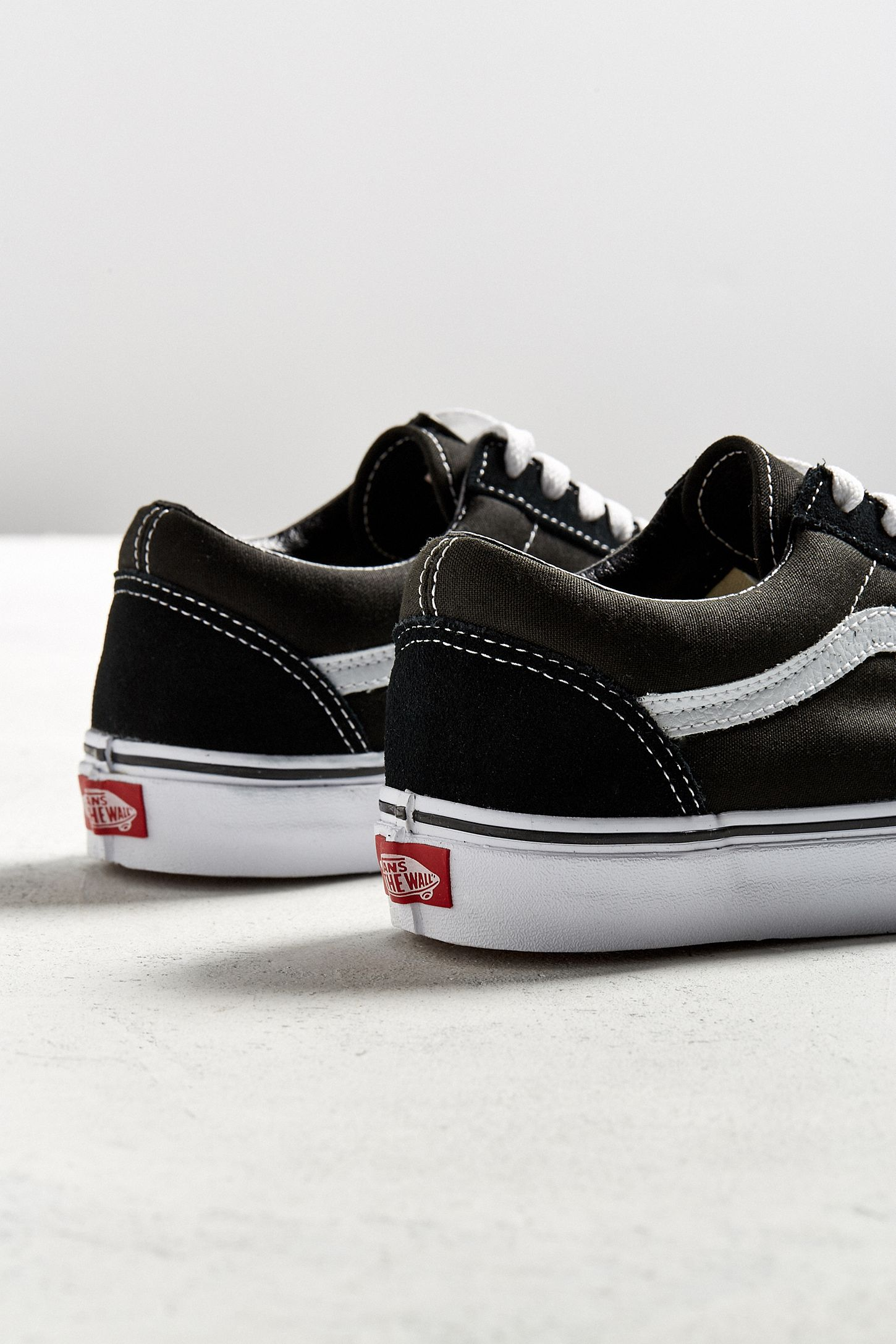 black vans old school