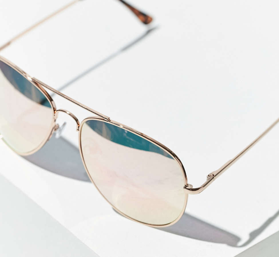 Slide View: 3: Classic Aviator Sunglasses