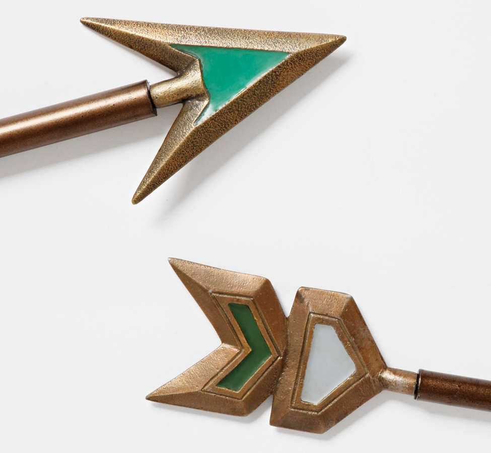 Slide View: 1: Magical Thinking Arrow Finial Set