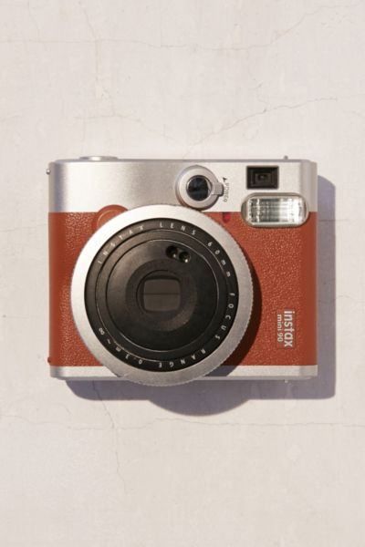 Fujifilm Instax Mini 90 Neo Classic Camera - Brown One Size at Urban Outfitters