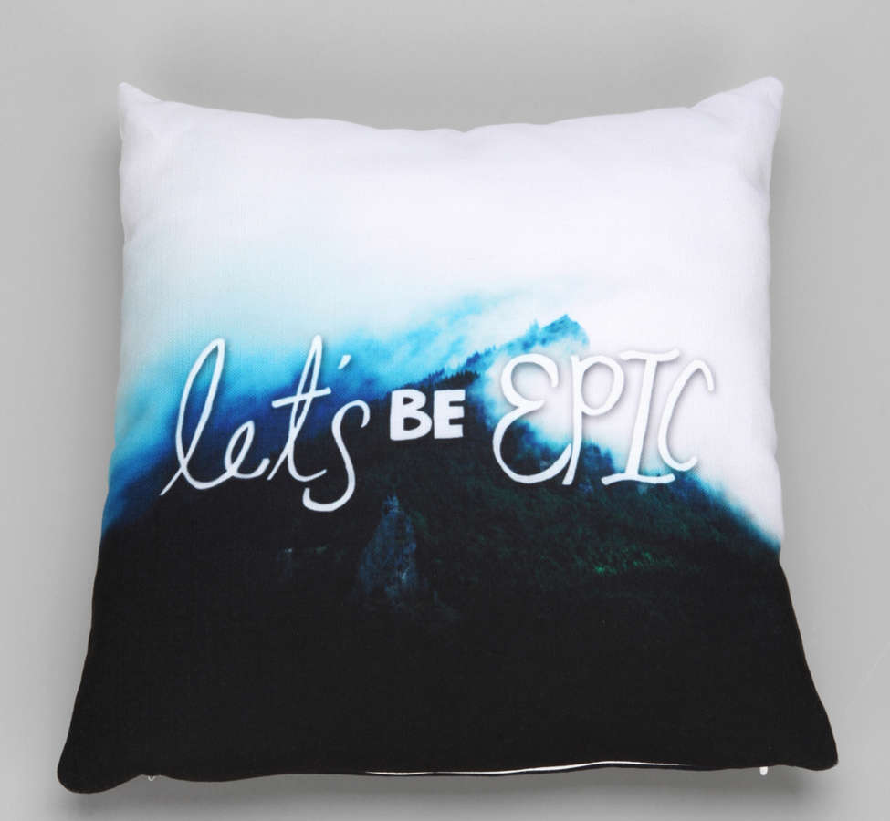 Slide View: 1: Leah Flores For DENY Let's Be Epic Pillow