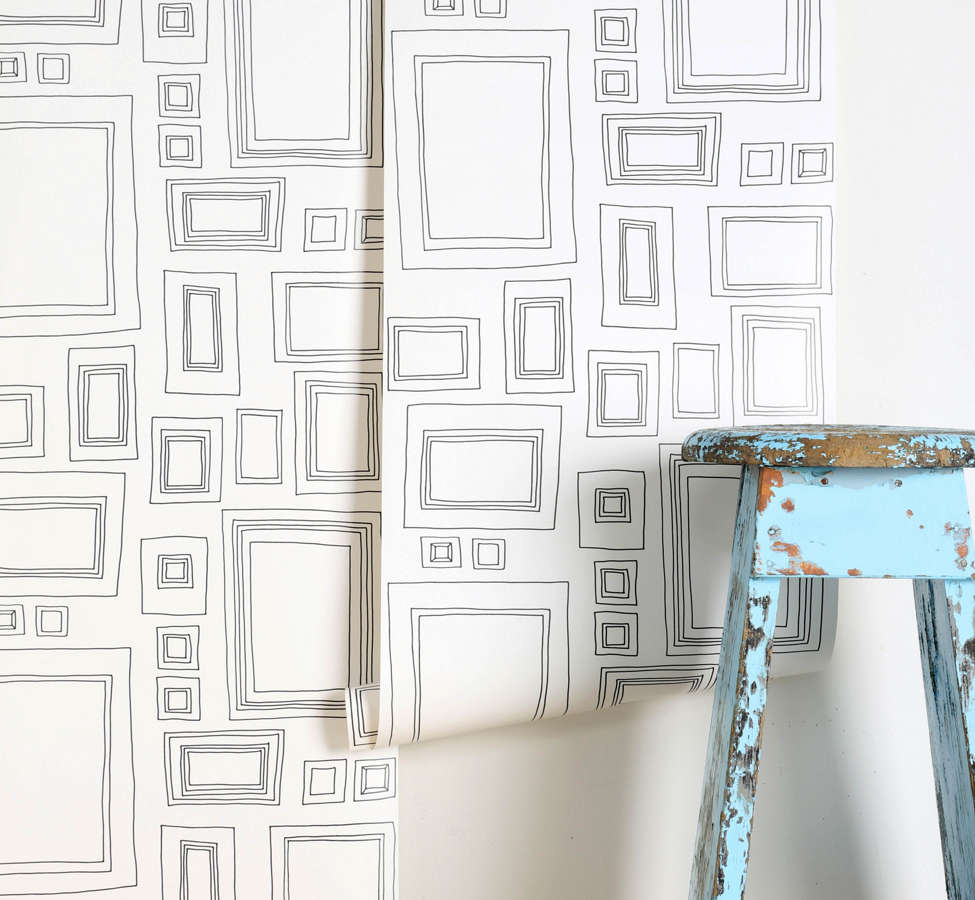 Slide View: 1: Graham & Brown Frame Wallpaper
