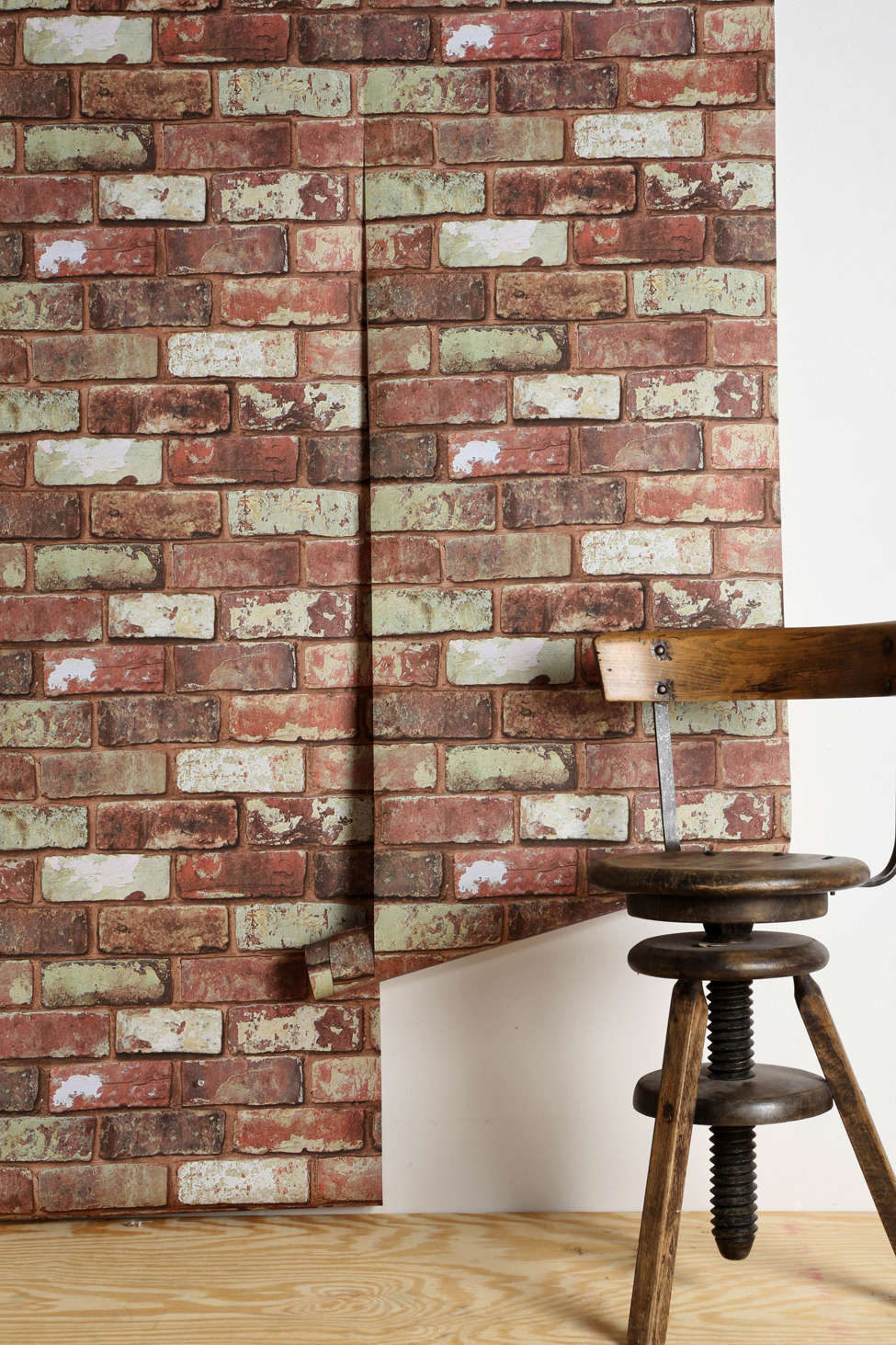 Brick Wall Paper graham & brown red brick wallpaper | urban outfitters